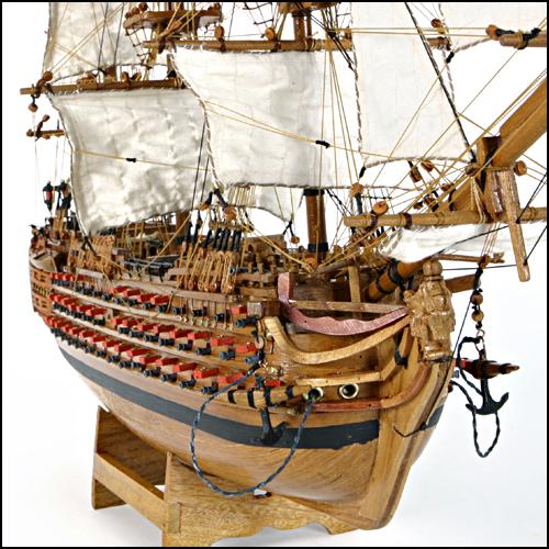 Maquette du bateau victory for Acheter des plans de construction