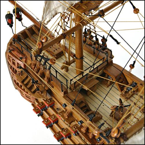 Maquette du Bateau Victory